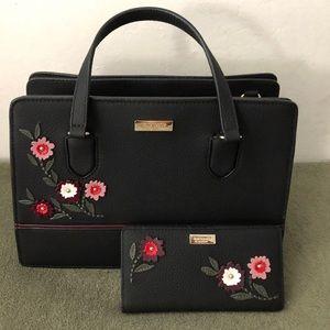 NWOT Kate Spade ♠️ Handbag & Wallet Set